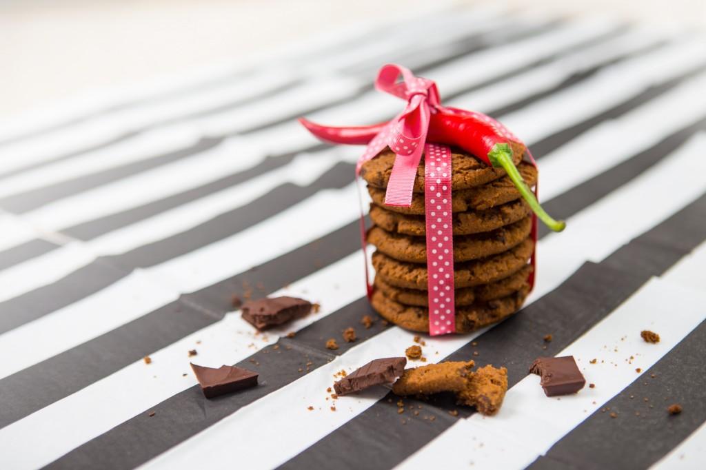 Opskrift:Cookies med chokolade