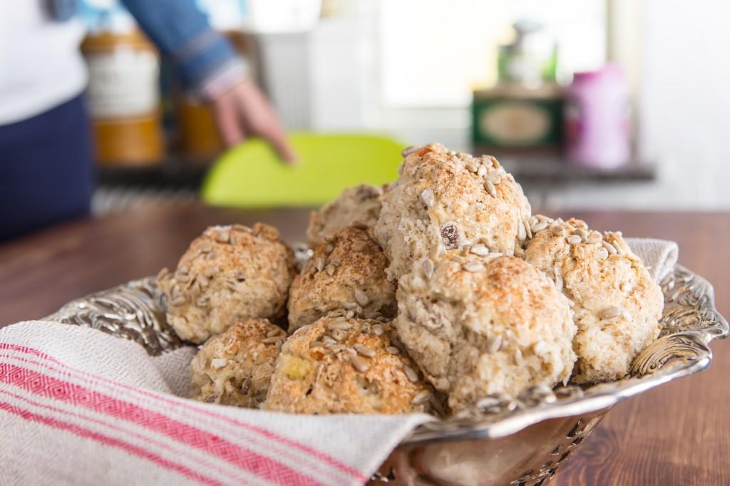 Recipes:Bread Buns with Müsli
