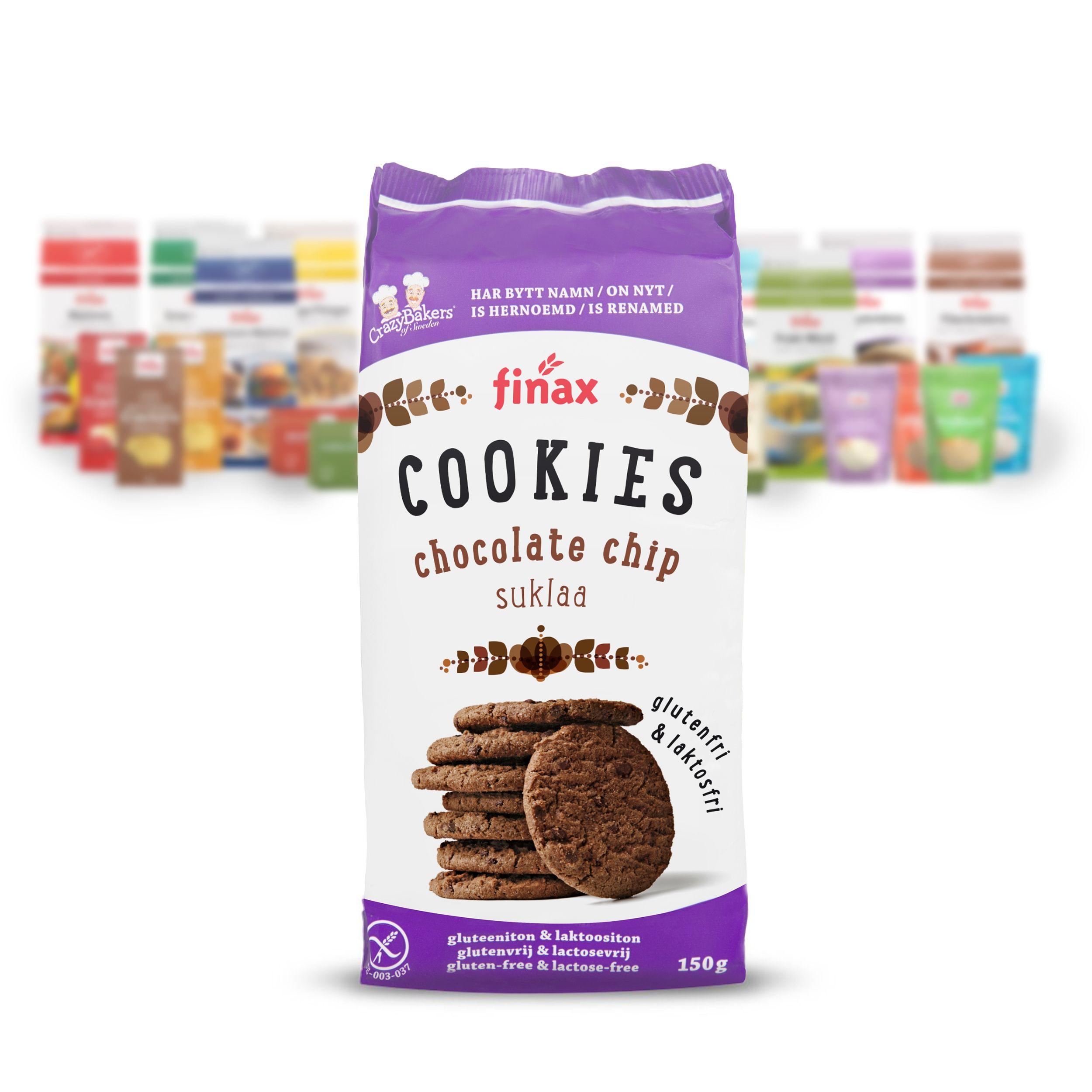 Tuote:Finax Suklaa Cookies