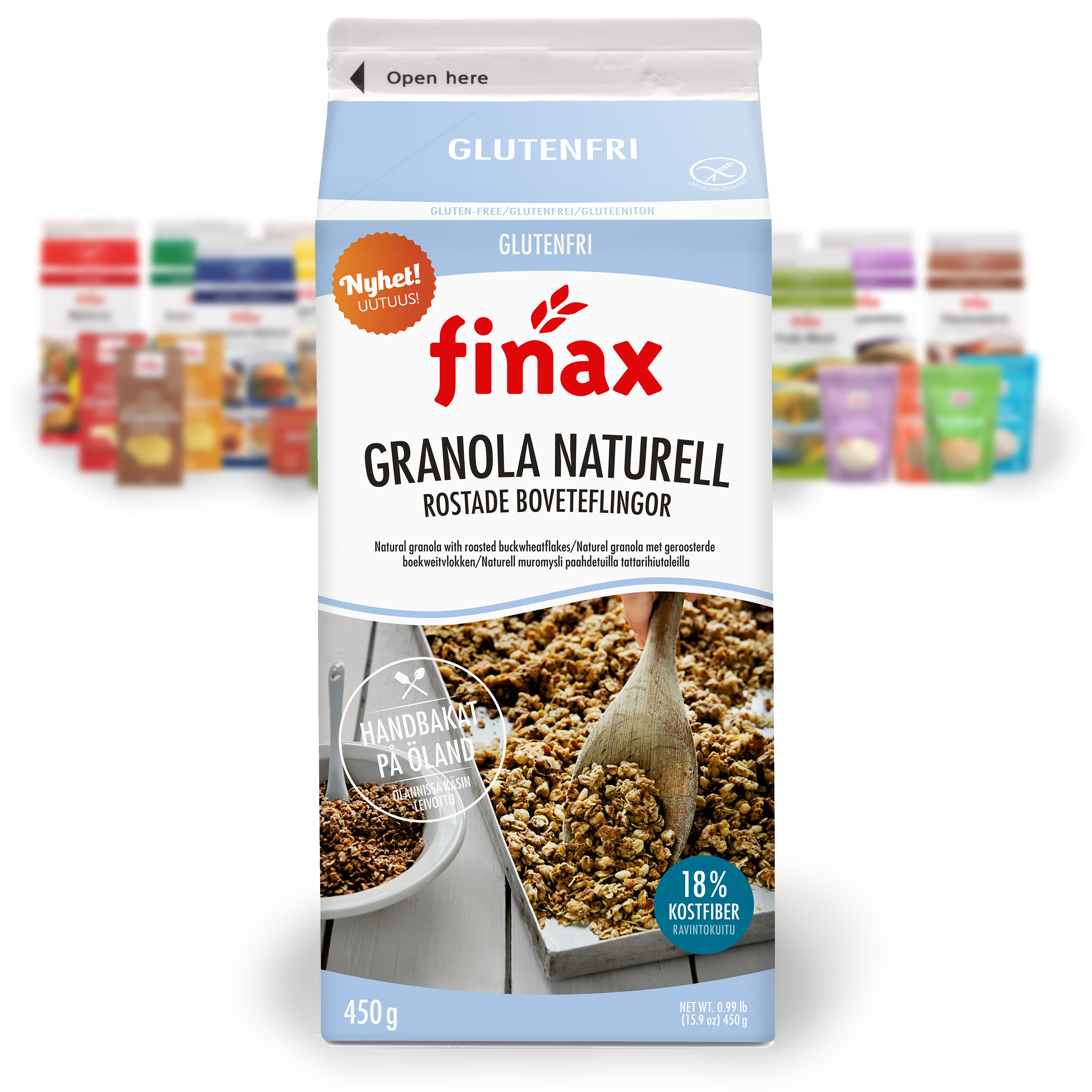 Produkt:Granola naturell